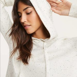Lou & Grey Flecked Hoodie Sweater